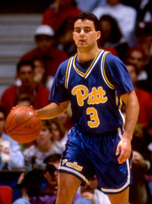 Miller as a starting point guard for the Pitt Panthers back in the late 80's and early 90's.