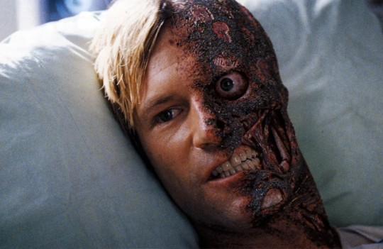 Aaron Eckhart brought to life the tragedy of Harvey Dent.