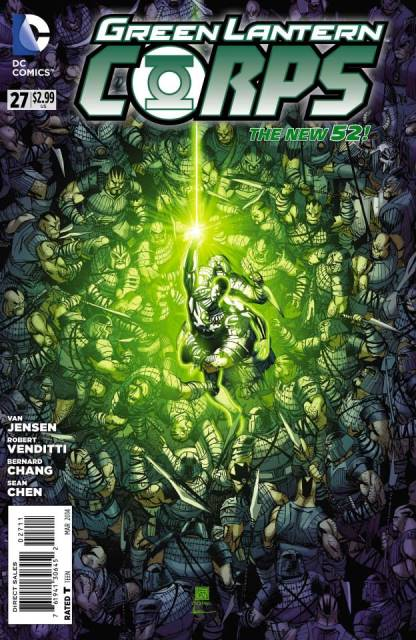 Green Lantern Corps #27 cover
