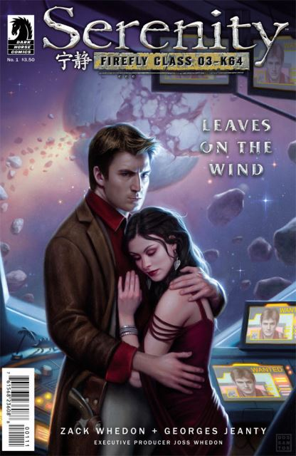 Serenity: Leaves on the Wind #1 cover