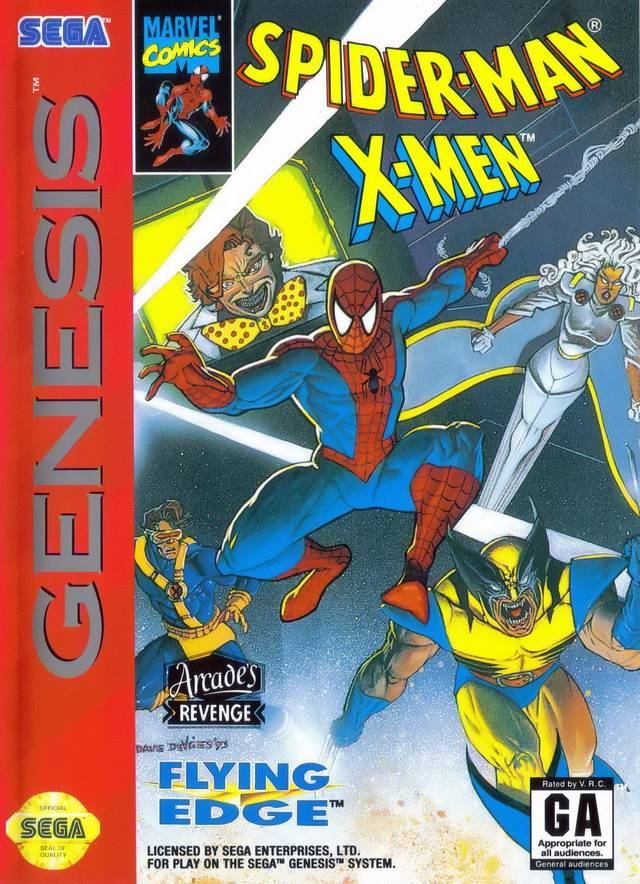 Not a great Spider-Man/X-Men crossover.