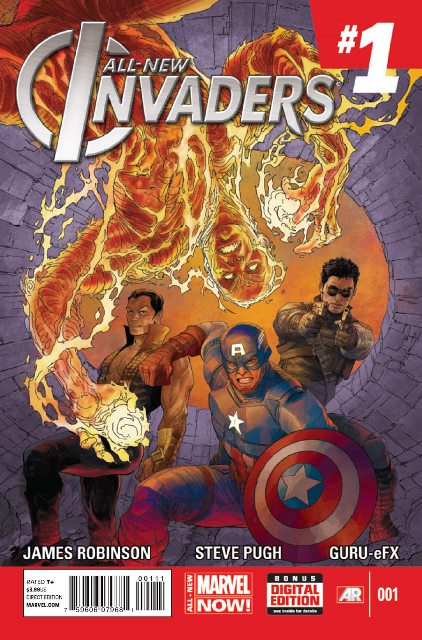 All-New Invaders #1 cover
