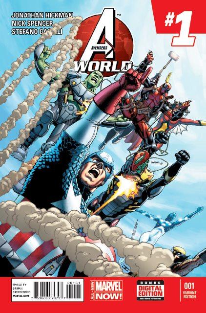 Avengers World #1 cover