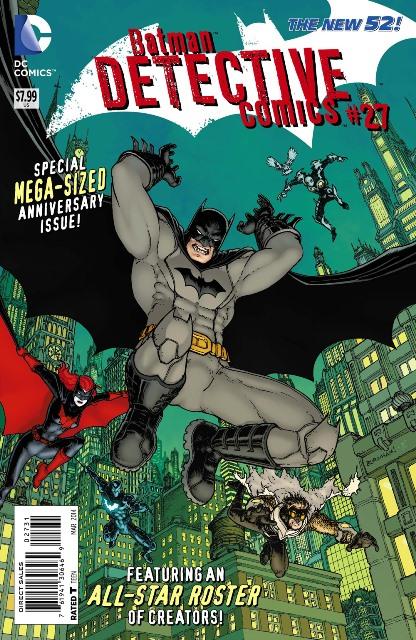 Detective Comics #27 cover