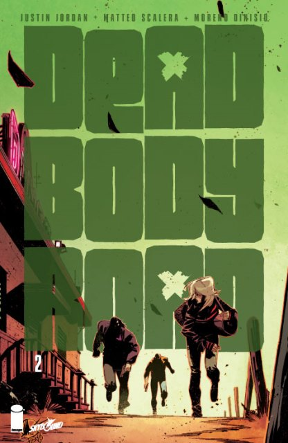 Dead Body Road #2 cover