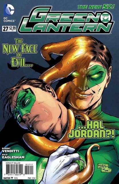 Green Lantern #27 cover