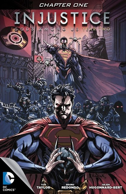 Injustice God Among Us Year Two #1 cover