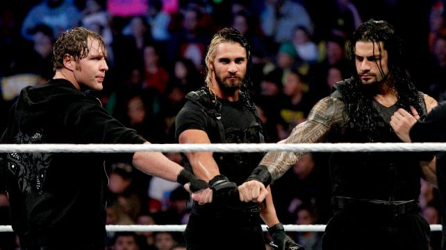 What crack in the Shield? [Photo courtesy of WWE.com]