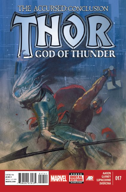 Thor: God of Thunder #17 cover