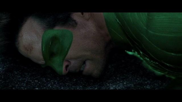 Yep, that's how watching the Green Lantern movie felt.