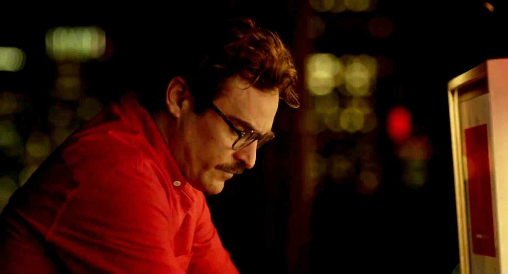 """Joaquin Phoenix finds love in the most unexpected of ways in """"Her,"""" written by Oscar nominee Spike Jonze."""