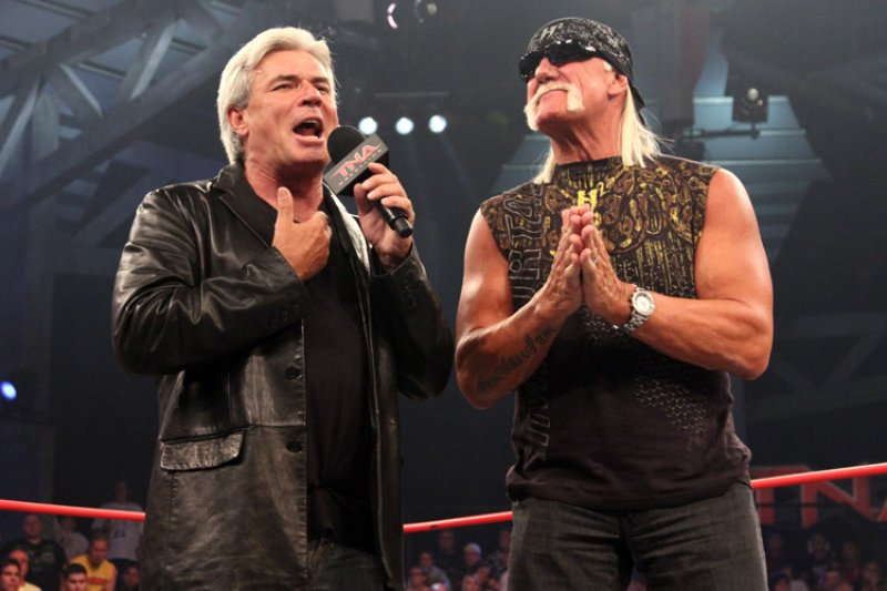 Nearly a decade after his attempt to purchase WCW fell through, Eric Bischoff arrived with Hulk Hogan at TNA to run the show in 2010. It did not end well.