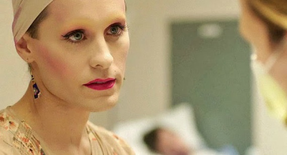 """Jared Leto in a stunning turn as a transgender in """"Dallas Buyers Club."""" He is up for Best Supporting Actor."""