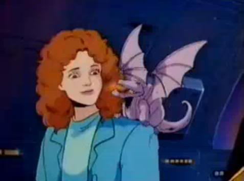 Lockheed the magic dragon lived on Asteroid M...