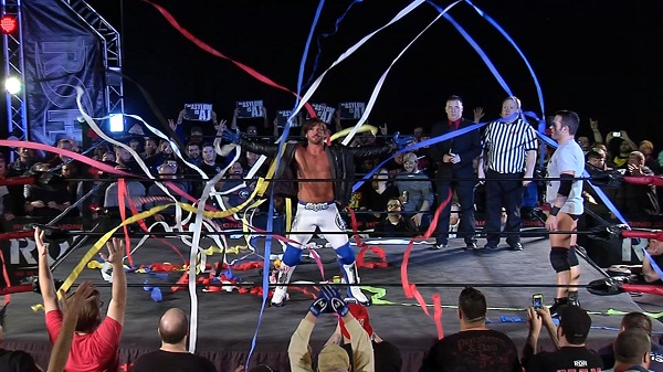 AJ Styles returns to Ring of Honor