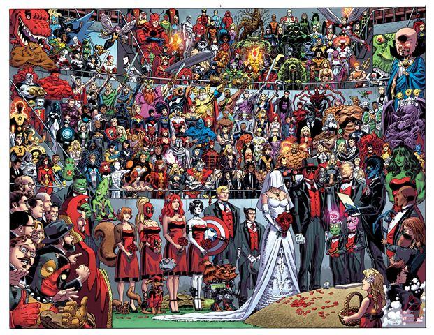 Deadpool #27's wraparound cover