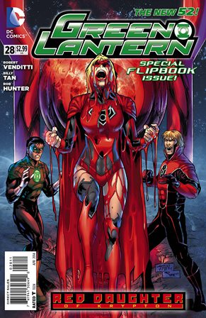 Green Lantern #28 cover