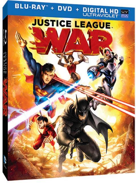 Justice League War cover