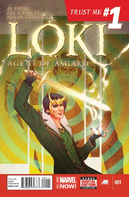 Loki: Agent of Asgard #1 cover