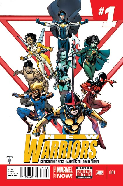New Warriors #1 cover