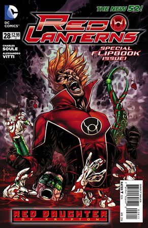 Red Lanterns #28 cover