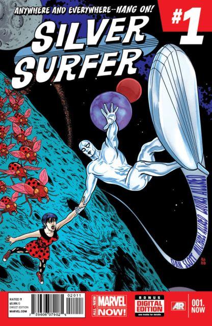 Silver Surfer #1 cover