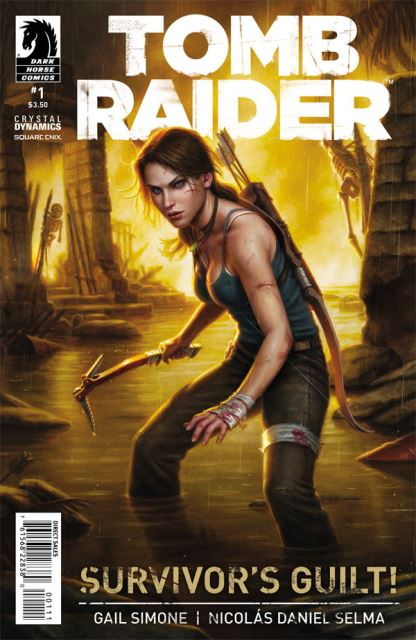Tomb Raider #1 cover