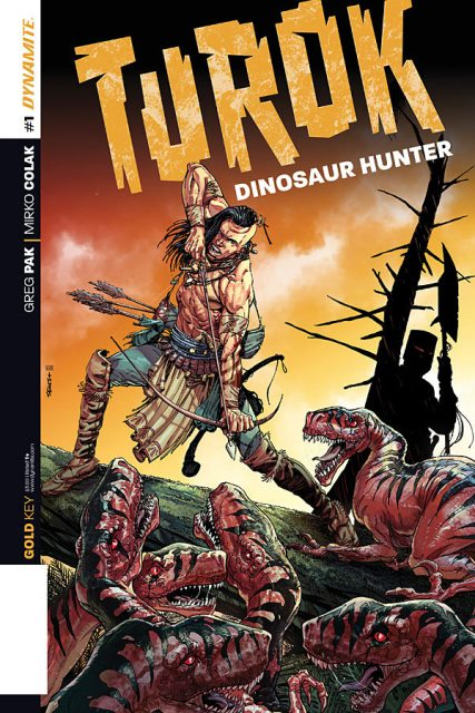 Turok: Dinosaur Hunter #1 cover