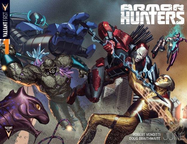 Armor Hunters teaser