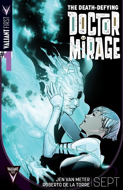 The Death-Defying Doctor Mirage #1 cover