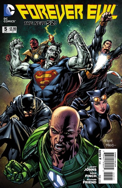Forever Evil #5 cover
