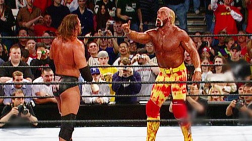 People should really be more thankful that Hogan helped to spare us from the 2002 HHH babyface run of doom.