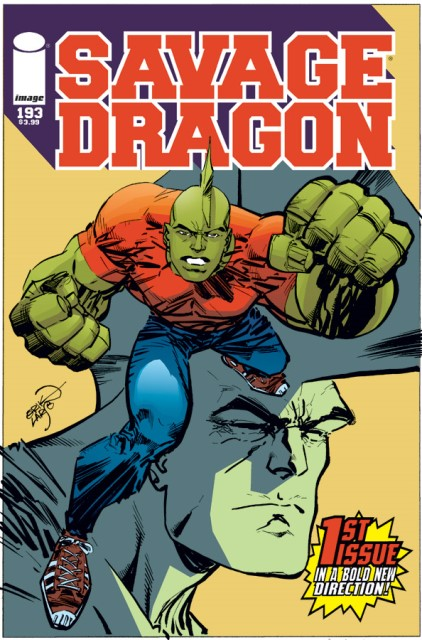 Savage Dragon #193 cover