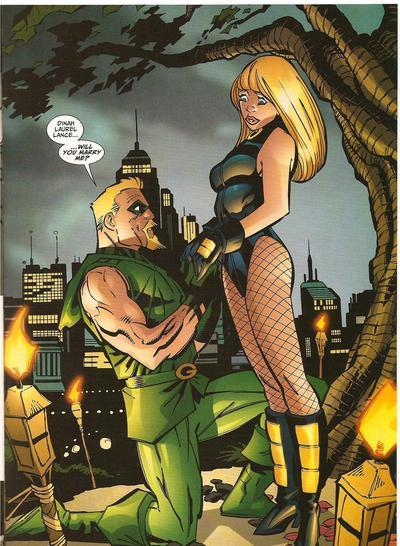 Ollie and Dinah eventually tied the knot.