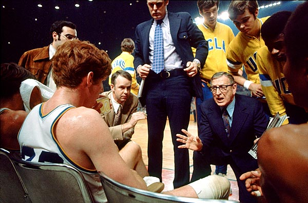 John Wooden's UCLA Bruins were responsible for four undefeated seasons in the 1960's and 1970's. The last two involved star player Bill Walton.