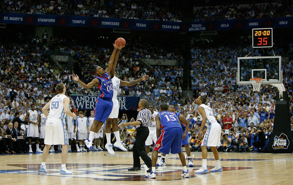 The 2008 Final Four was the one time that all four of the #1 seeds won their respective regions, including mainstays North Carolina and Kansas.