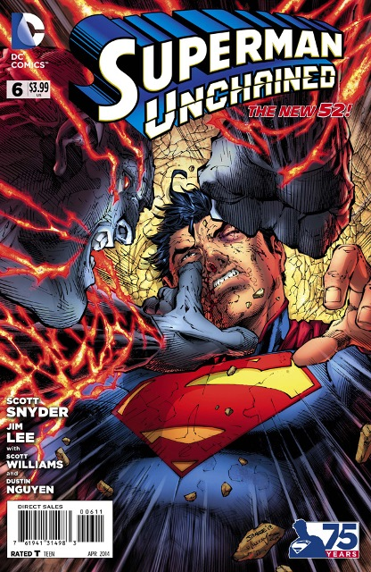 Superman Unchained #6 cover