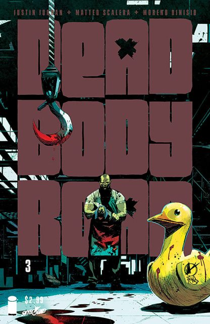 Dead Body Road #3 cover