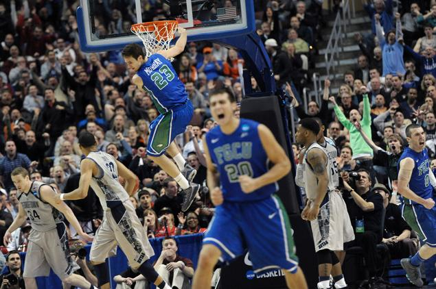 There are upsets, there are really big upsets, and then there is Florida Gulf Coast last season.