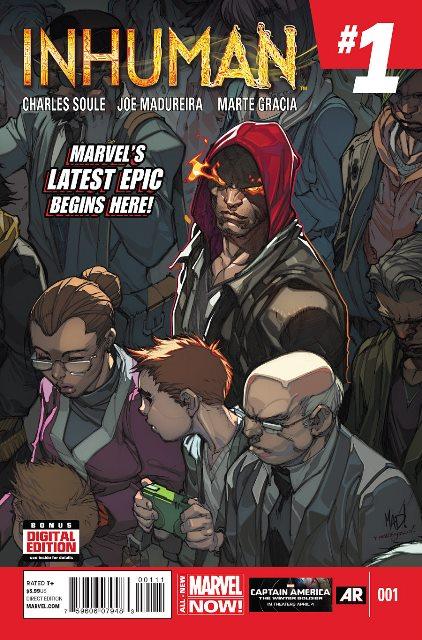 Inhuman #1 cover