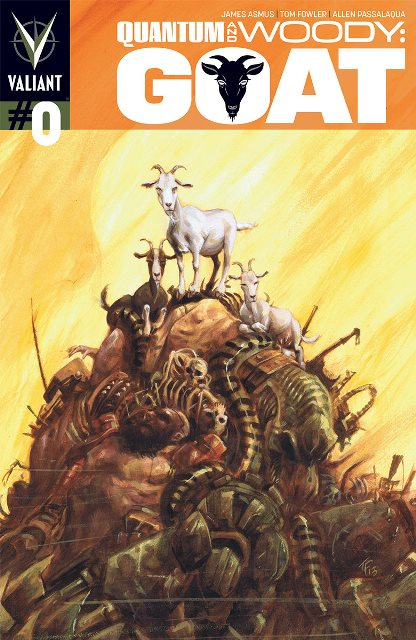 Quantum & Woody Goat #0 cover