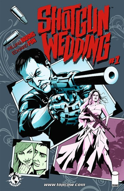Shotgun Wedding #1 cover