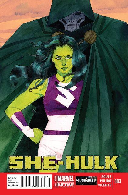 She-Hulk #3 cover