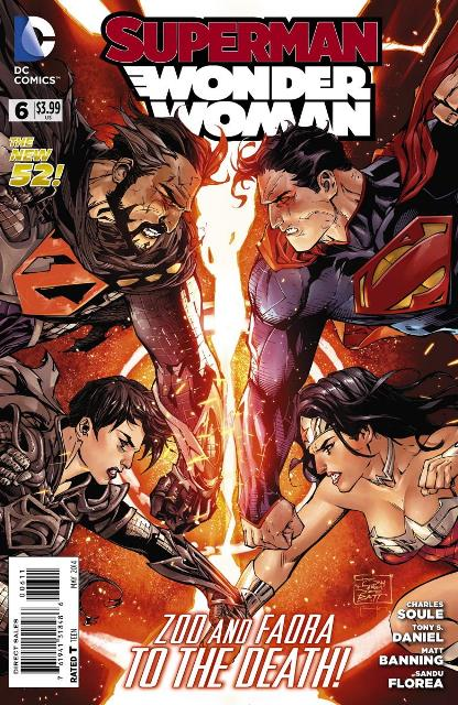Superman/Wonder Woman #6 cover