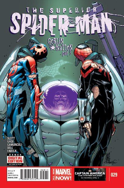 Superior Spider-Man #29 cover