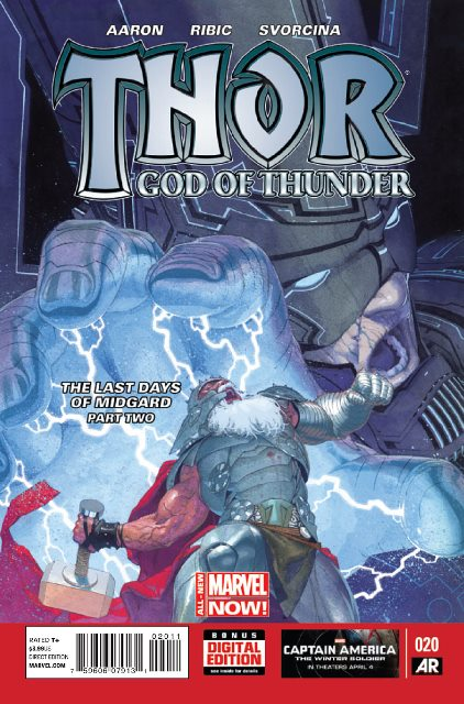 Thor: God of Thunder #20 cover