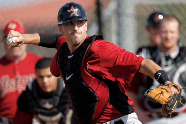 Catcher Jason Castro leads an young-and-coming Astros squad.