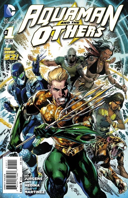 Aquaman and The Others #1 cover