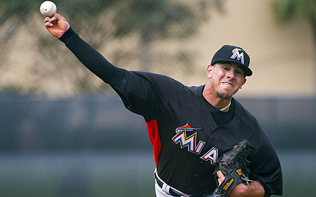 Second-year pitcher Jose Fernandez looks to build in his promising 2013.