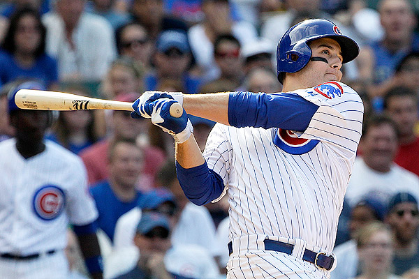 First baseman Anthony Rizzo will try to build on his 2013 numbers.